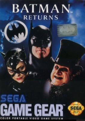 Batman Returns Cover Art