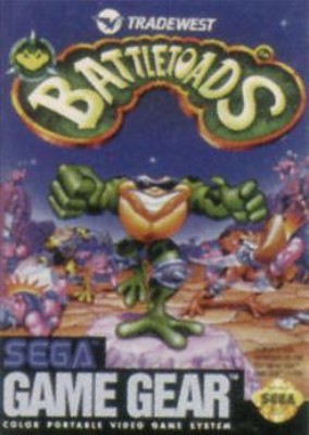 Battletoads Cover Art