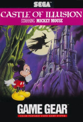 Castle of Illusion starring Mickey Mouse Cover Art