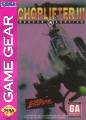 Choplifter III Cover Art