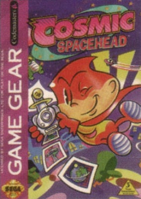 Cosmic Spacehead Cover Art