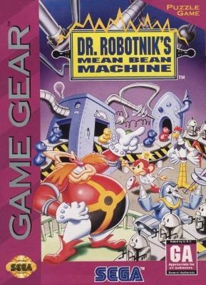 Dr. Robotnik's Mean Bean Machine Cover Art