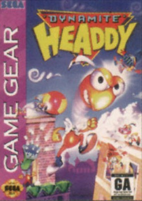 Dynamite Headdy Cover Art