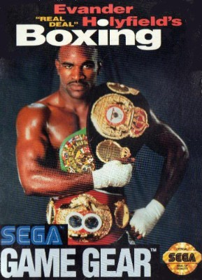 Evander Real Deal Holyfield's Boxing Cover Art