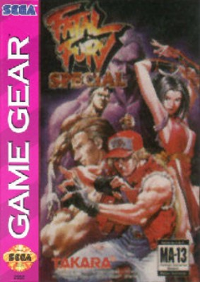 Fatal Fury Special Cover Art