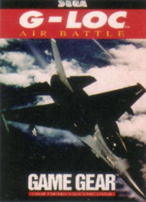 G-LOC Air Battle Cover Art