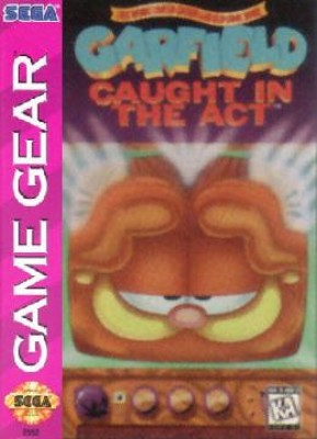 Garfield: Caught in the Act Cover Art