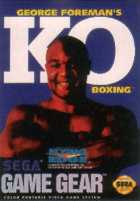 George Foremans KO Boxing Cover Art