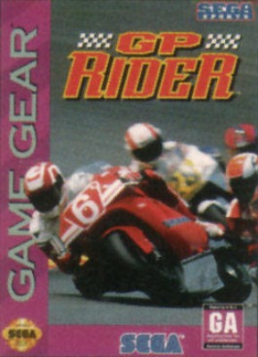 GP Rider Cover Art
