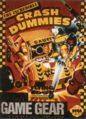 Incredible Crash Dummies Cover Art