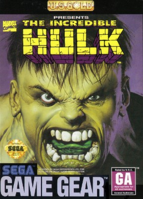 Incredible Hulk Cover Art