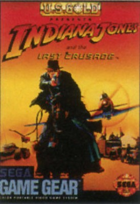 Indiana Jones and the Last Crusade Cover Art