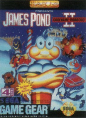 James Pond II: Codename: Robocod Cover Art