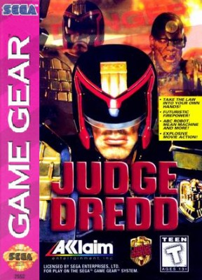 Judge Dredd Cover Art