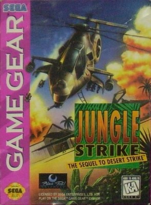 Jungle Strike Cover Art