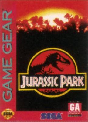 Jurassic Park Cover Art