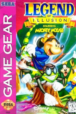 Legend of Illusion starring Mickey Mouse Cover Art