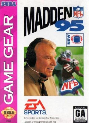 Madden NFL 95 Cover Art