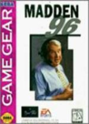 Madden 96 Cover Art