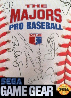 Majors: Pro Baseball Cover Art