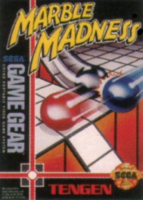 Marble Madness Cover Art