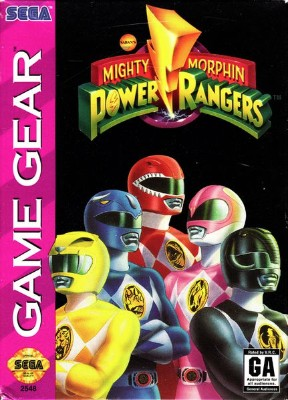 Mighty Morphin Power Rangers Cover Art