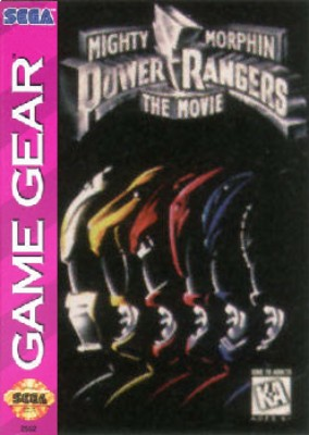 Mighty Morphin Power Rangers: The Movie Cover Art