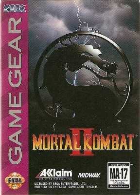 Mortal Kombat II Cover Art