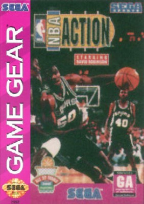 NBA Action starring David Robinson Cover Art