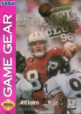 NFL Quarterback Club 96 Cover Art