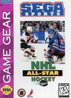 NHL All-Star Hockey Cover Art
