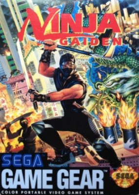 Ninja Gaiden Cover Art