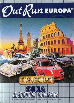 OutRun Europa Cover Art