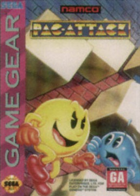 Pac-Attack Cover Art