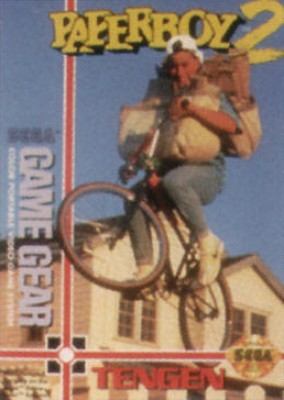 Paperboy 2 Cover Art