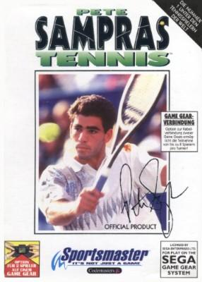 Pete Sampras Tennis Cover Art