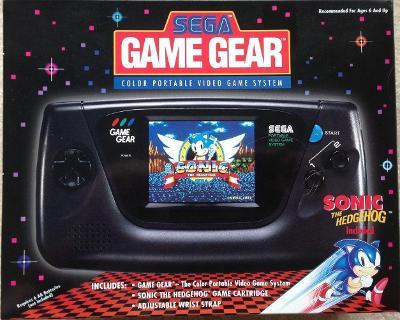 Sega Game Gear Cover Art