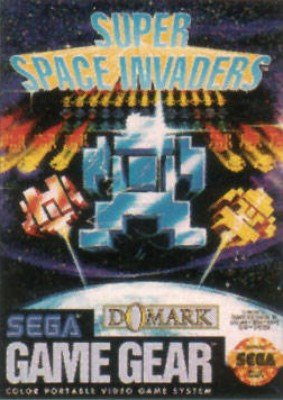 Super Space Invaders Cover Art
