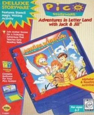 Adventures in Letterland With Jack and Jill Cover Art