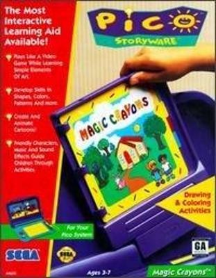 Magic Crayons Cover Art