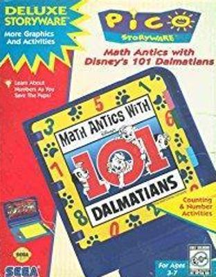 Math Antics with Disney's 101 Dalmatians Cover Art