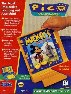 Mickey's Blast Into the Past Cover Art