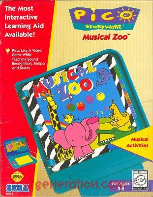 Musical Zoo Cover Art