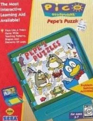 Pepe's Puzzles Cover Art