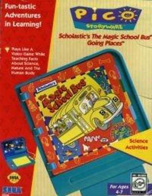 Scholastic's The Magic School Bus Cover Art