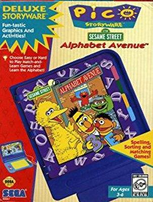 Sesame Street Alphabet Avenue Cover Art