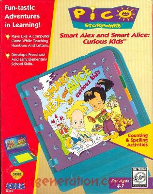 Smart Alex and Smart Alice: Curious Kids Cover Art
