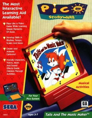 Tails and the Music Maker Cover Art