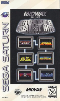Midway Presents Arcades Greatest Hits Cover Art