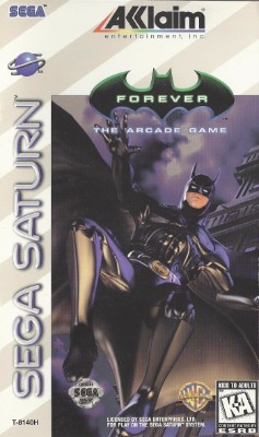 Batman Forever: The Arcade Game Cover Art